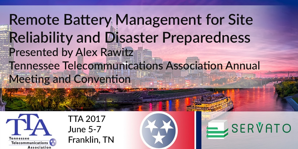 Servato Presenting at the TTA 2017 Annual Meeting - June 5-7