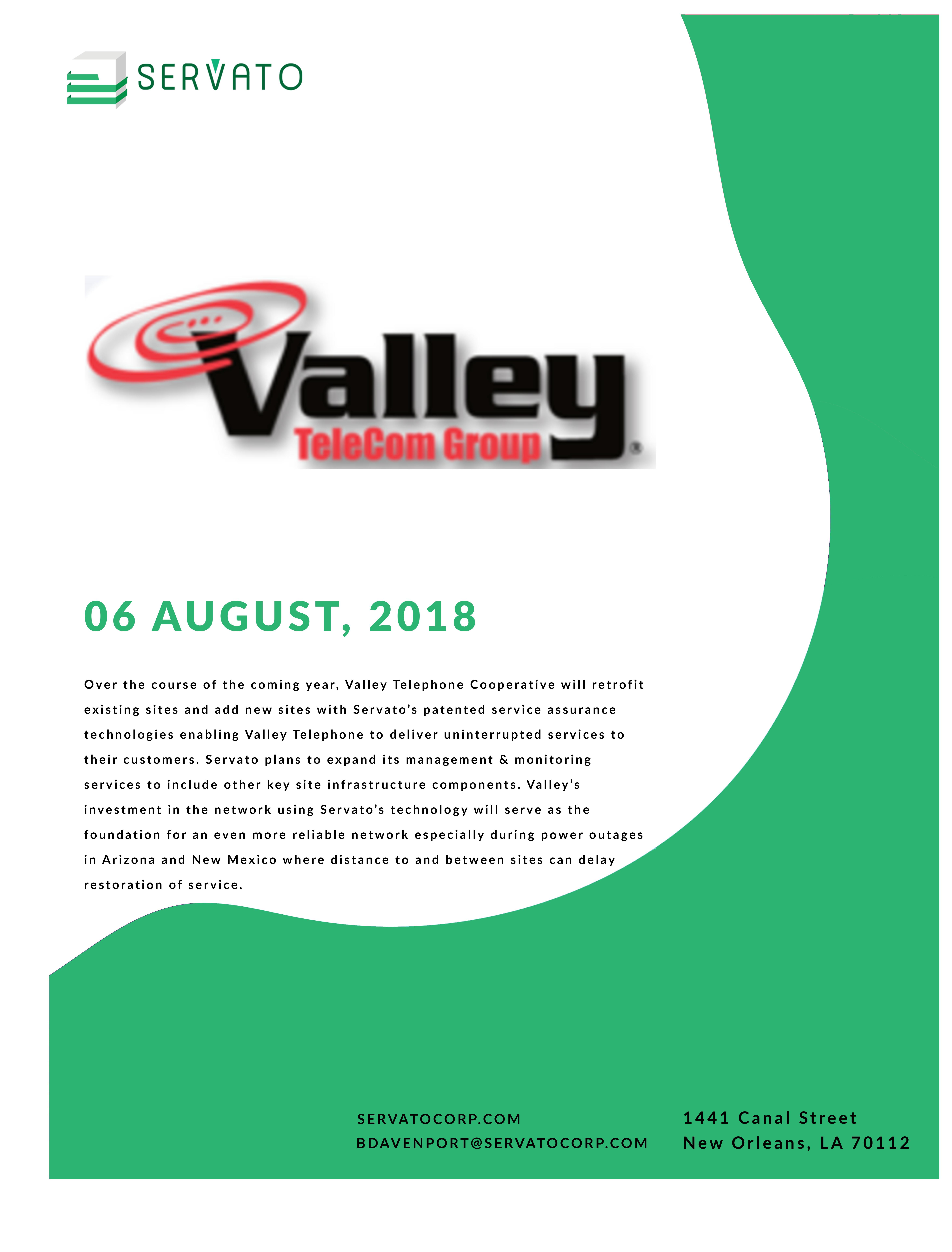 Valley Telephone Hardens Network